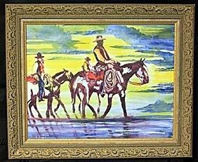 Oil Painting On Paper  William Verdult