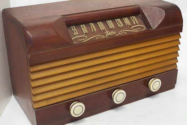 1: Radio - 1947 Delco Model #1229
