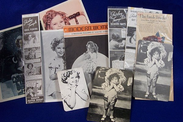 8: Shirley Temple Memorabelia