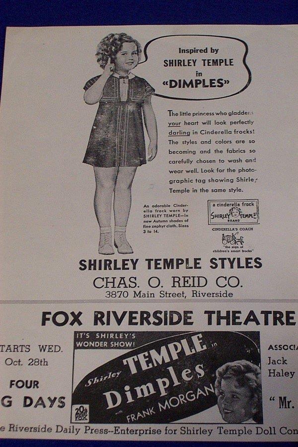 8: Shirley Temple Memorabelia - 2