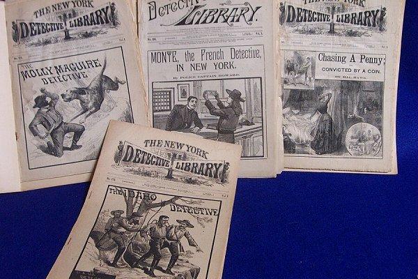 9: Detective Magazine 19th Century