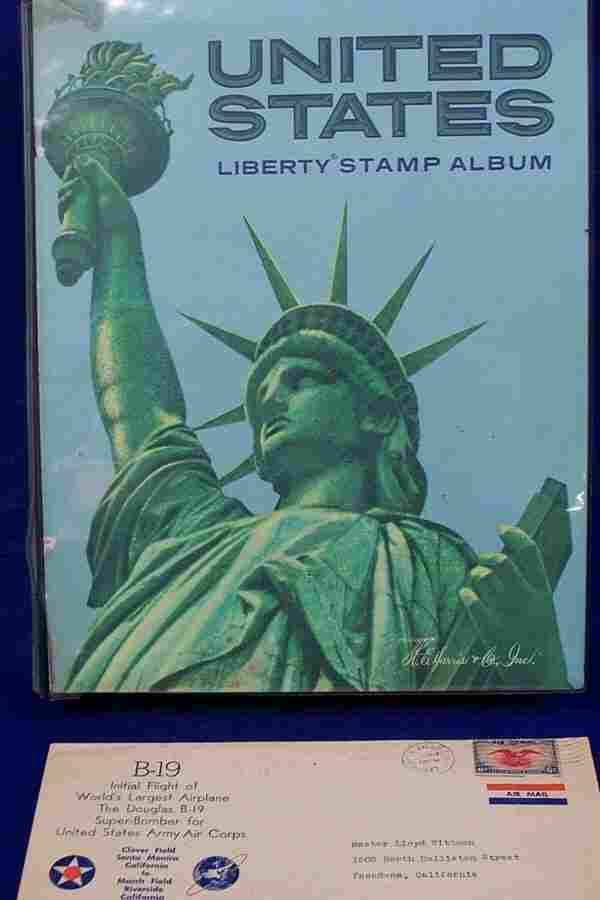 U. S. Stamp Album 1847 - 1988
