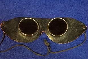 Automobile Touring Goggles Circa 1920's