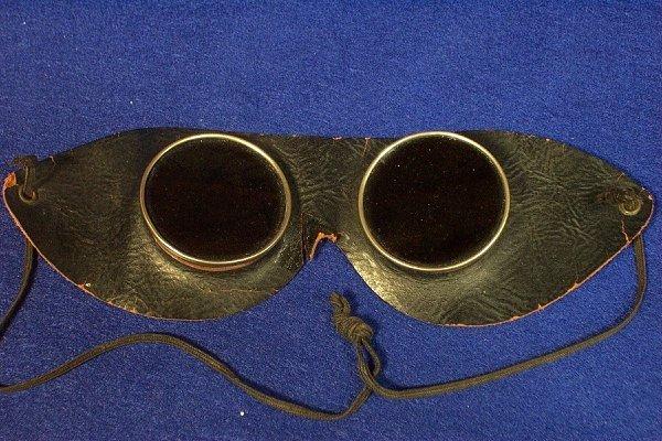 12: Automobile Touring Goggles Circa 1920's