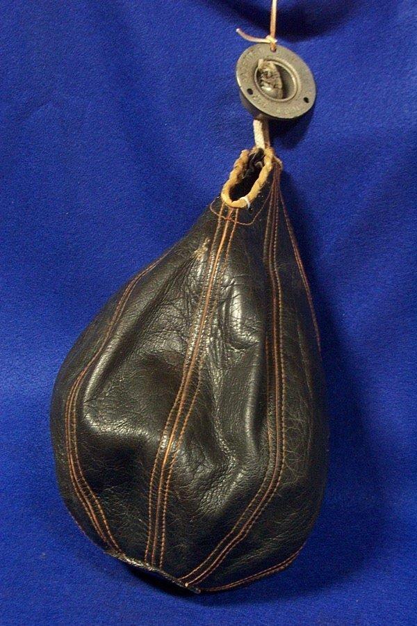 24: Sporting Goods - Antique Punching Bag Circa 1900