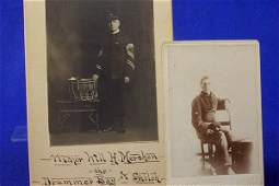 209: Photographs- W.H. Mershon, Drummer Boy of Shiloh