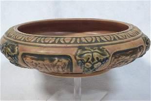 Roseville Pottery 1924 Florentine Bowl - 10in