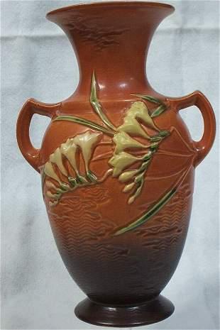 Roseville Pottery - Freesia #127 12in., 1945