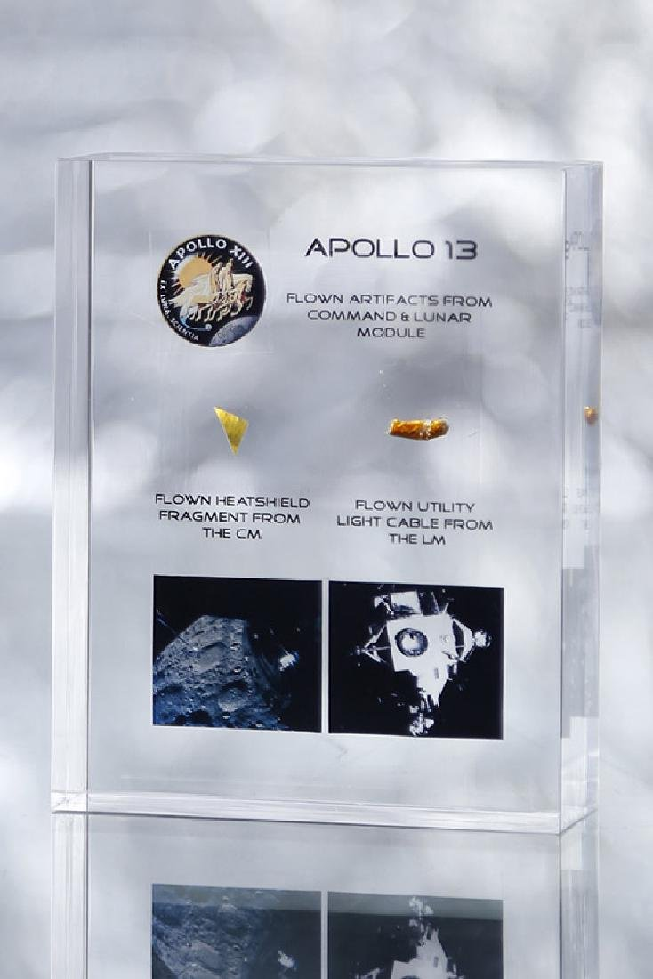 Apollo 13 - Acrylic Kapton Electric cable - Flown