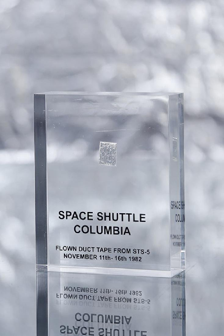 Acrylic with Columbia Tape (STS-5) The US space shuttle
