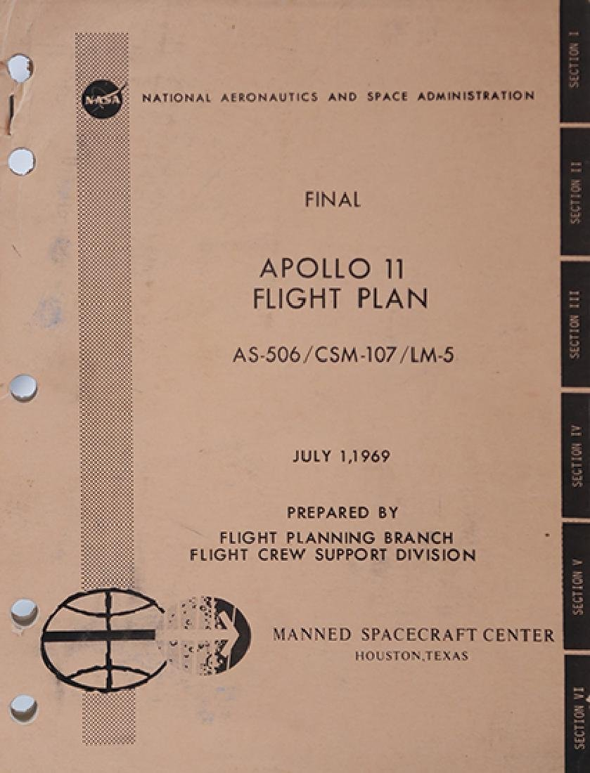 Apollo 11 documentation package including the mission