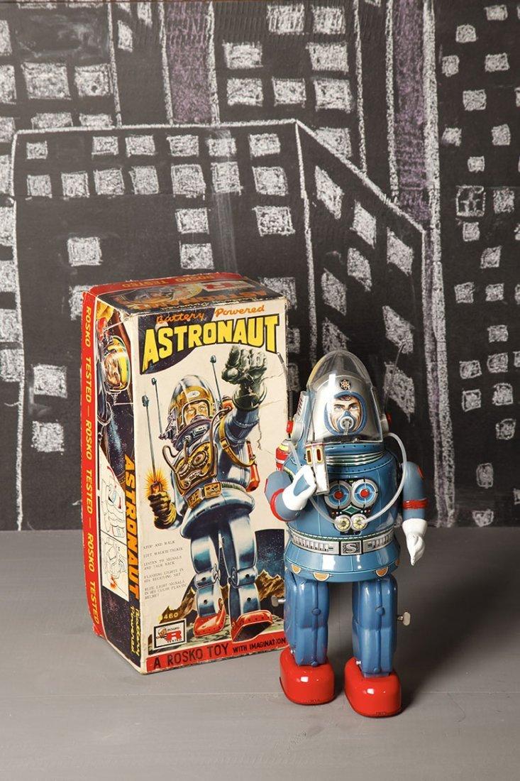 Japon Battery toy 1962 Nomura Rosko Toy