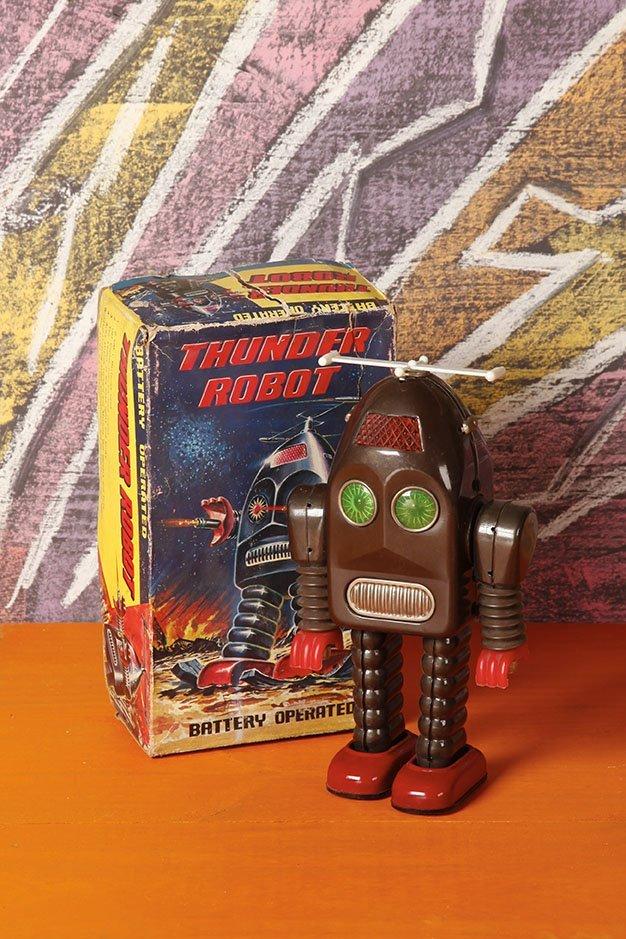 Japon Battery toy 1967 Asakusa toy Ltd - A1
