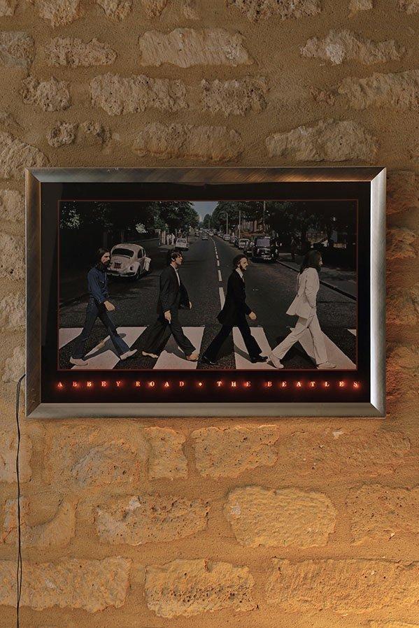 Cadre Beatles Abbey Road circa 1990