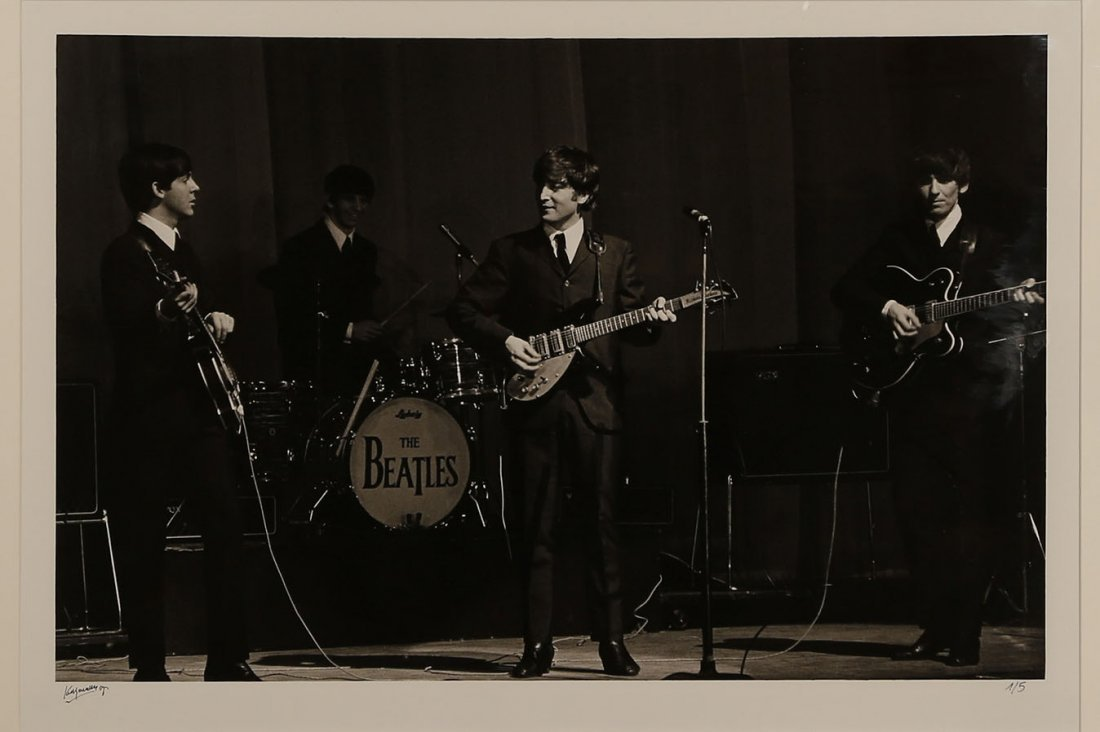 Roger Kasparian (ne en 1938) The Beatles, Olympia 1964