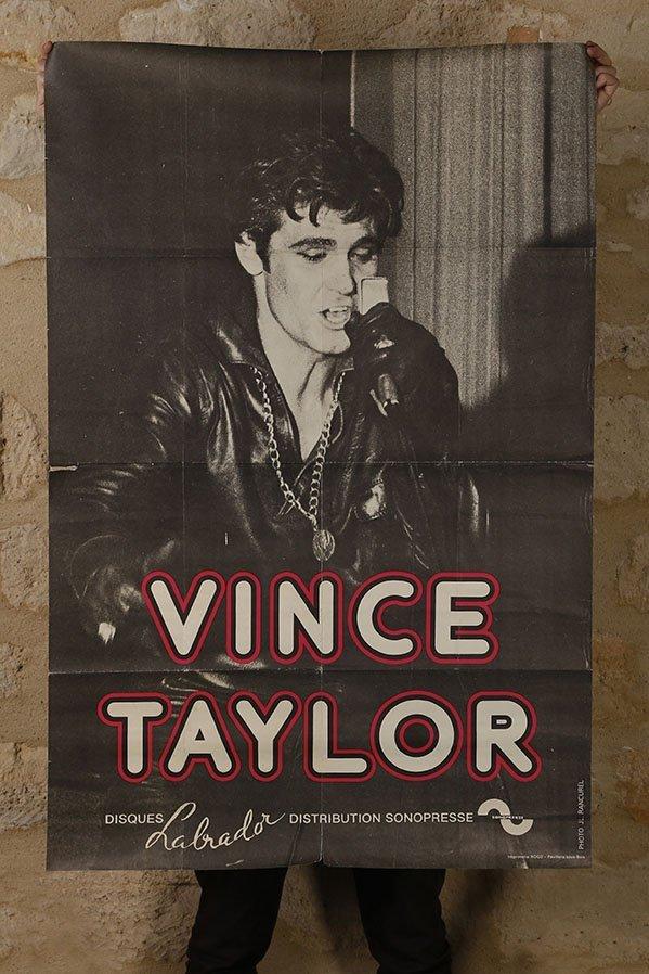 Vince Taylor Affiche de promotion pour les disques