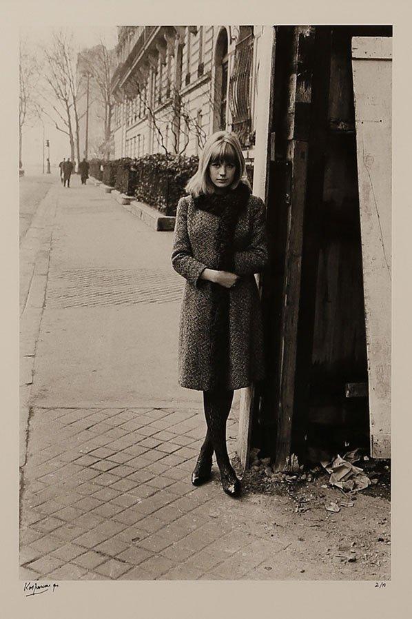 Roger Kasparian (ne en 1938) Marianne Faithfull avenue