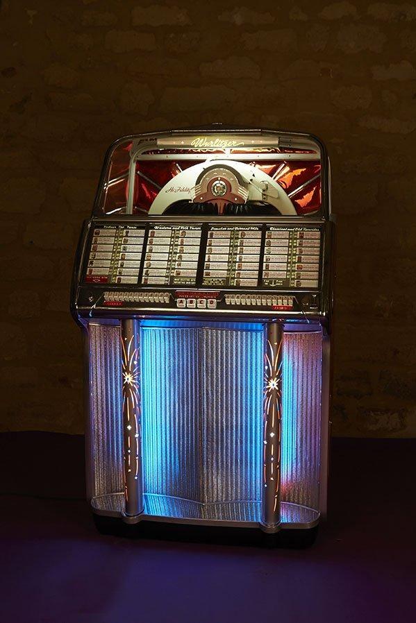 Wurlitzer USA Juke box, modele 1800 1955