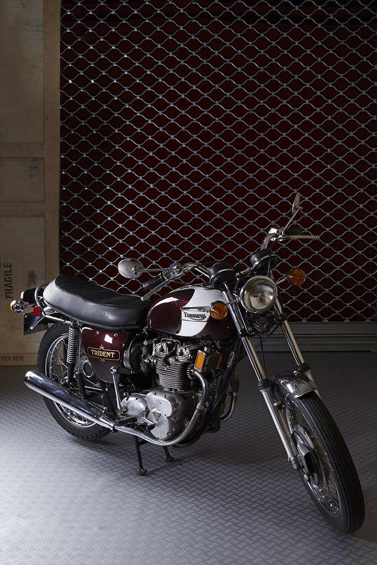 Triumph Moto 150 Trident 1972