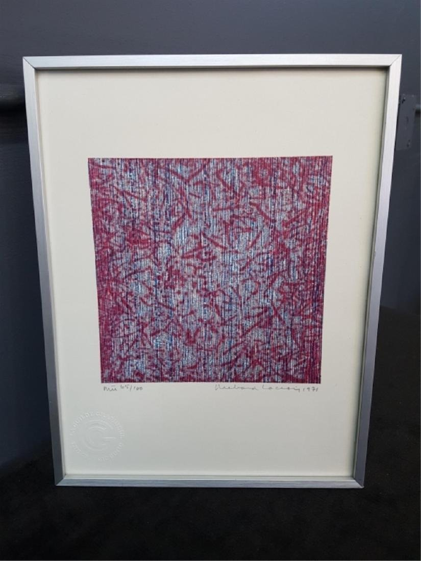 Richard Lacroix Signed and Numbered Print - 2
