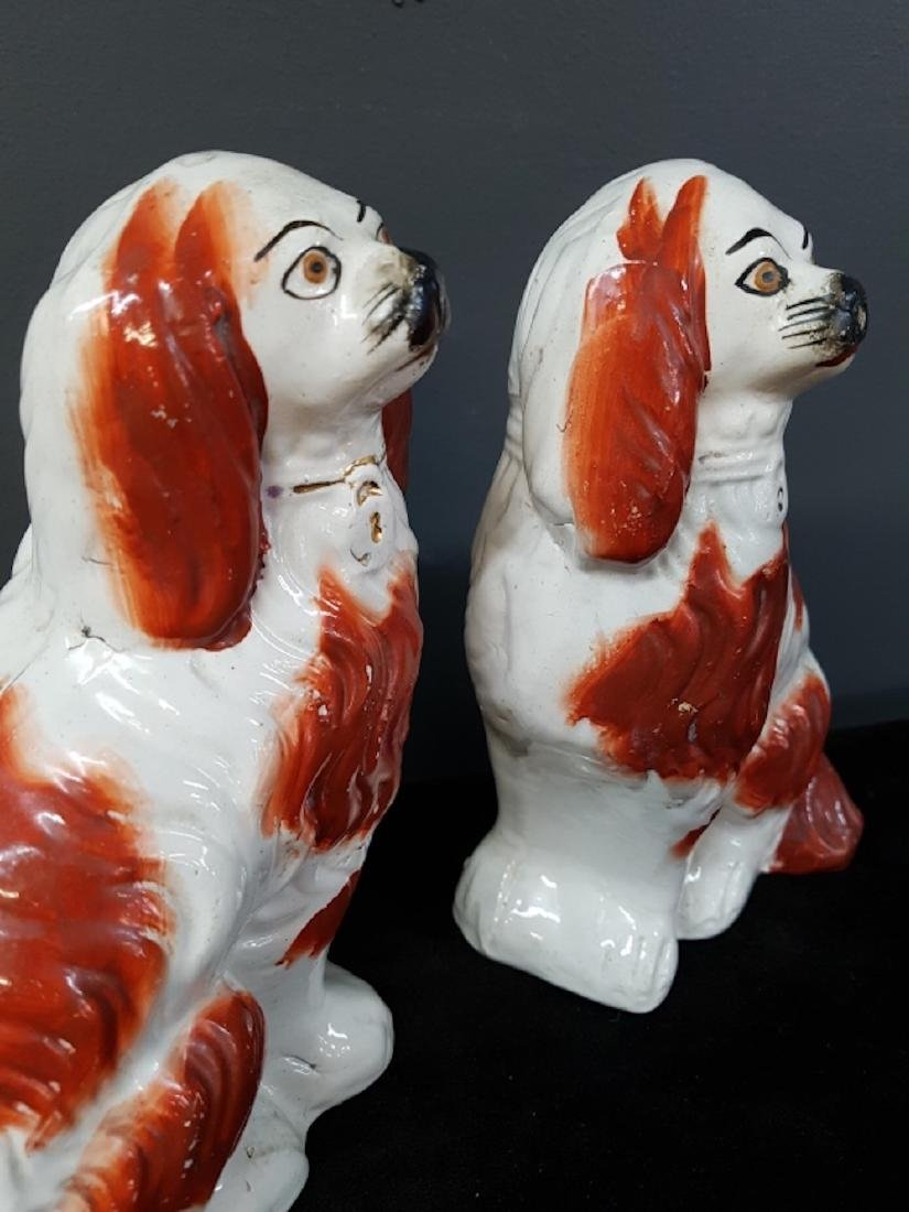 Pair of Staffordshire Dogs - 3