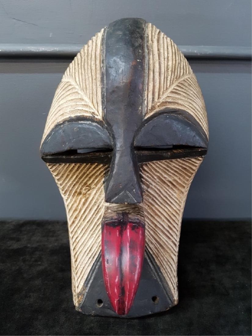 Vintage African Carved Mask
