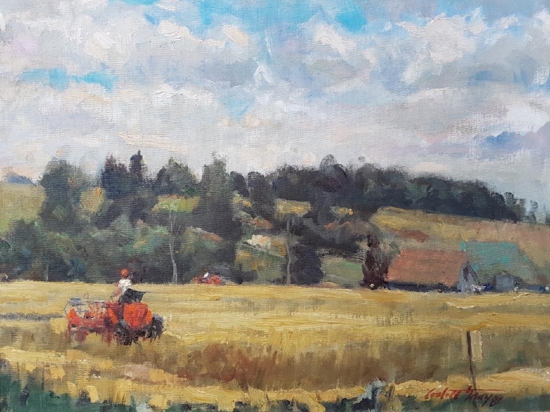 Corbett Gray Untitled Oil on Board
