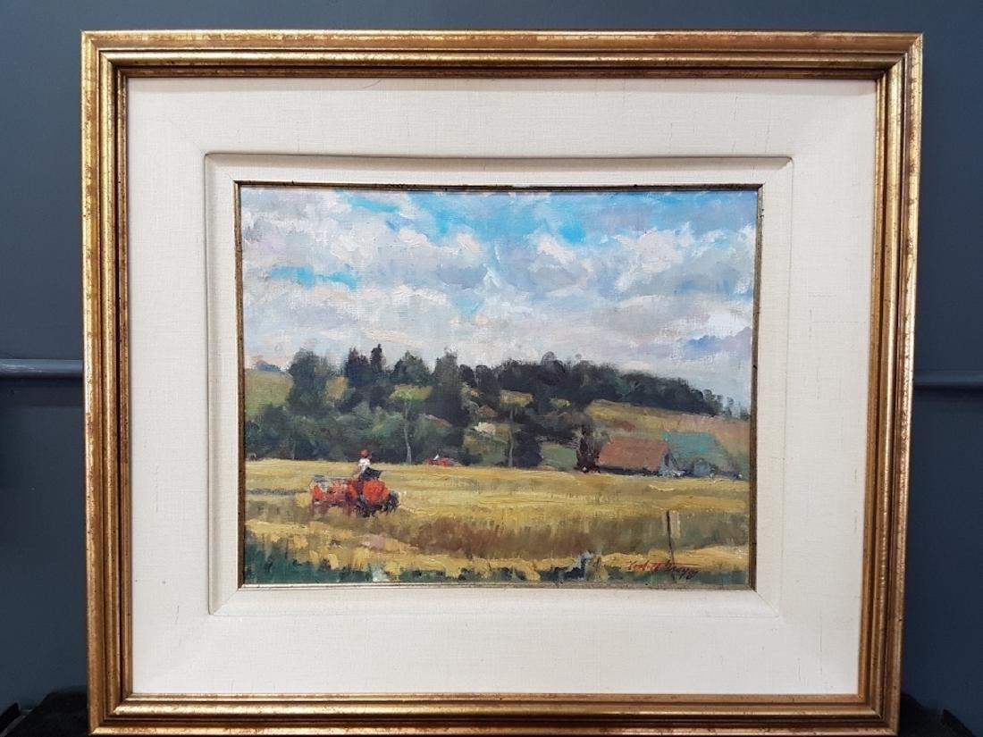 Corbett Gray Untitled Oil on Board - 3