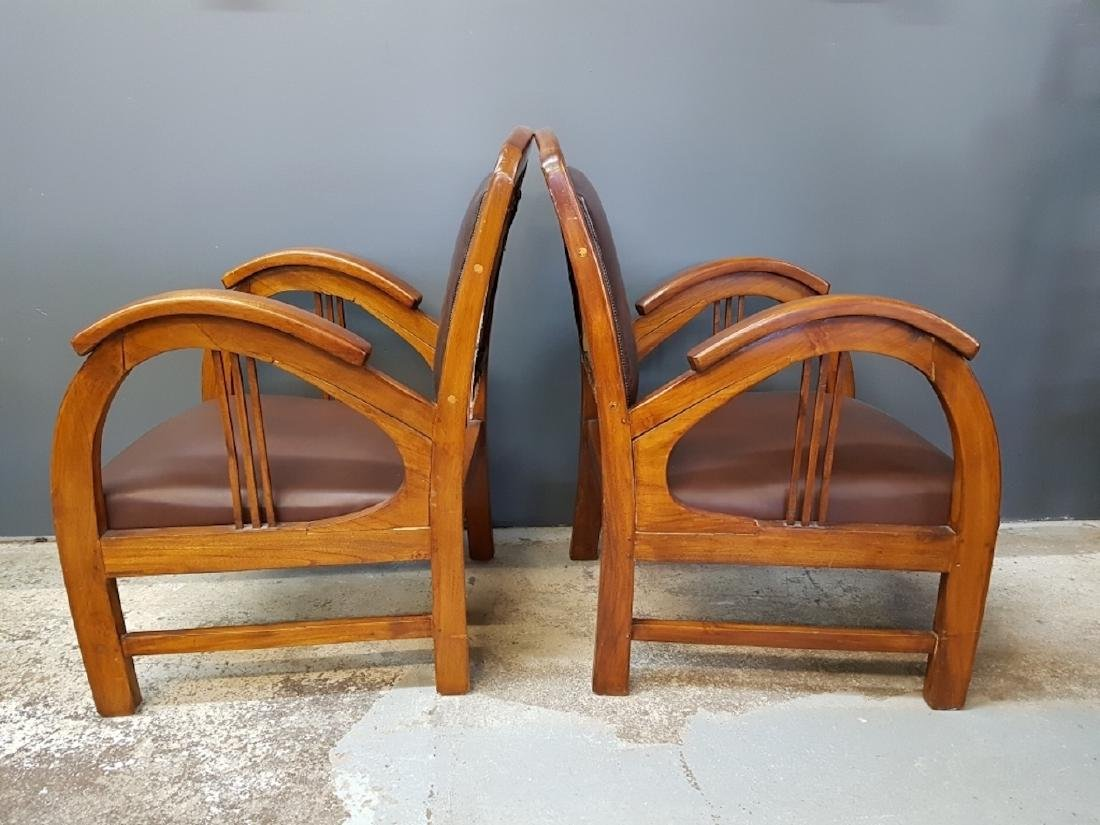 Pair of Art Deco Style Club Chairs - 3