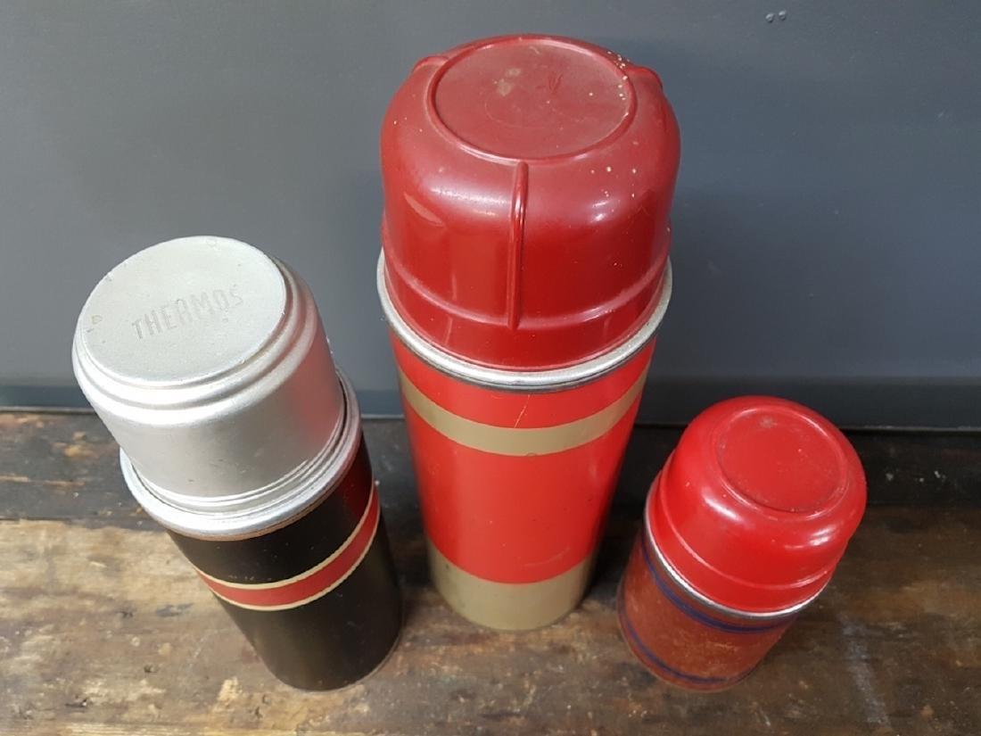Lot of Three Assorted Vacuum Bottles - 2
