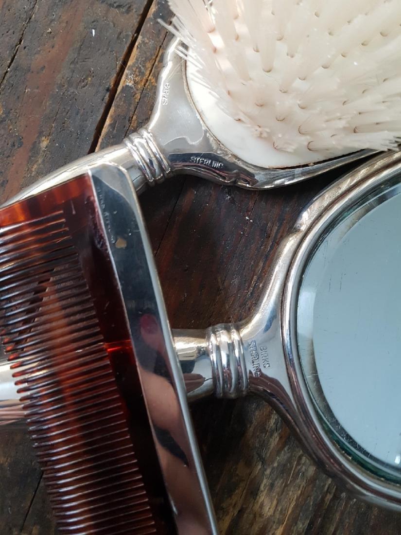 Birks Sterling Silver Dressing Vanity Set - 4