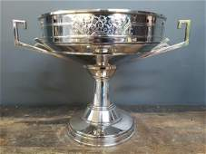 Art Deco Sterling Silver Compote, Hallmarked
