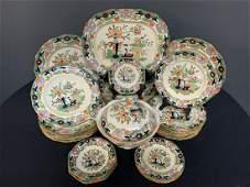 Masons Ironstone China England Imari Dishes