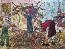 Jean-claude Mayodon (france/canada) Oil On Canvas