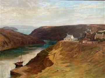 JC FRANCHERE, Oil on Canvas, Saguenay Landscape
