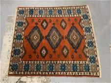 Persian Hamadan Wool Handmade Area Rug