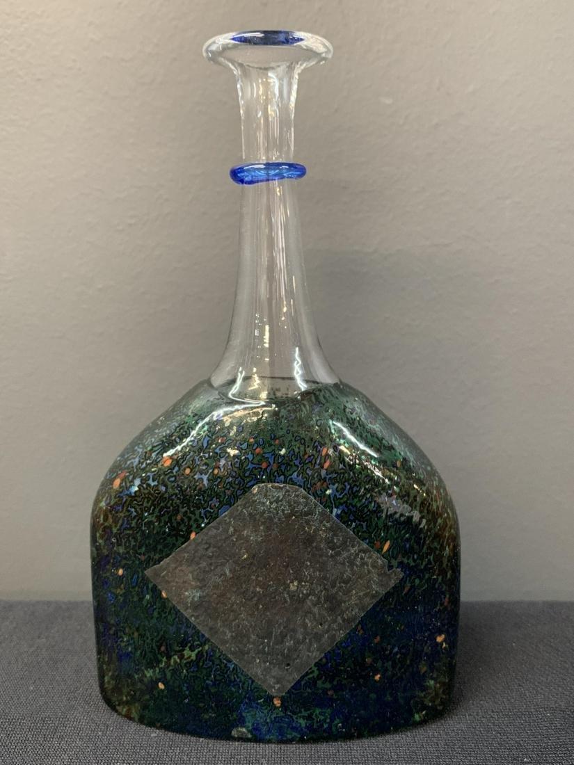 Kosta Boda Bertil Vallien Art Glass Solifleur Vase