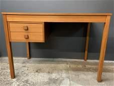 Mcm Domino Mobler Danish Teak 2 Drawer Desk