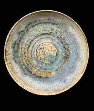 Mcm Dutch Studio Art Pottery Plate