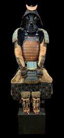 Edo Period Japanese Samurai Armor, Complete