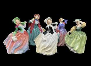 Lot Of 5 Royal Doulton Figurines