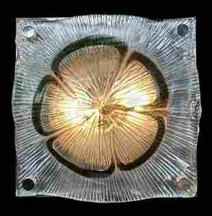 Modernist Murano Zuccheri Venini Light Fixture