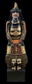42 Plates Edo Period Samurai Armor Dragon Maedate