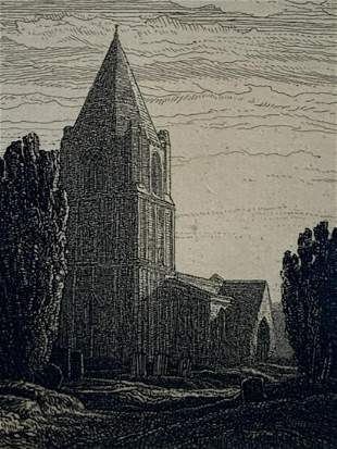 Frederick L. Griggs, Etching, Barnack 1914