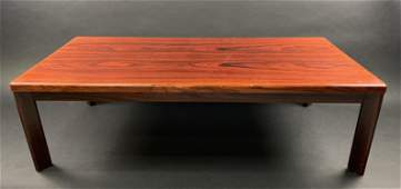 Mid Century Modern Rosewood Danish Coffee Table