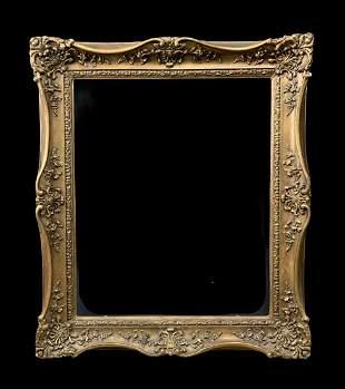 Antique Victorian Carved Wood Frame
