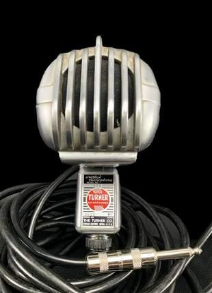 1940s Turner Crystal Microphone Model 33x