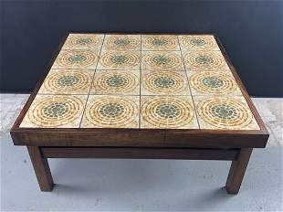 Mcm Trioh Danish Rosewood Ox Art Coffee Table