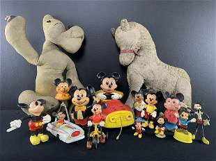 Vintage Lot Mickey Mouse Walt Disney Collection