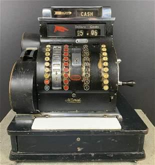 Antique National Cash Register Model 842